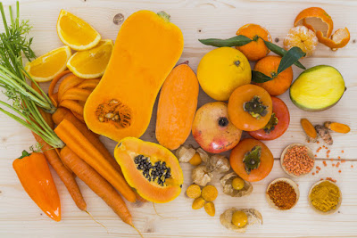 frutas-verduras-de-color-naranja