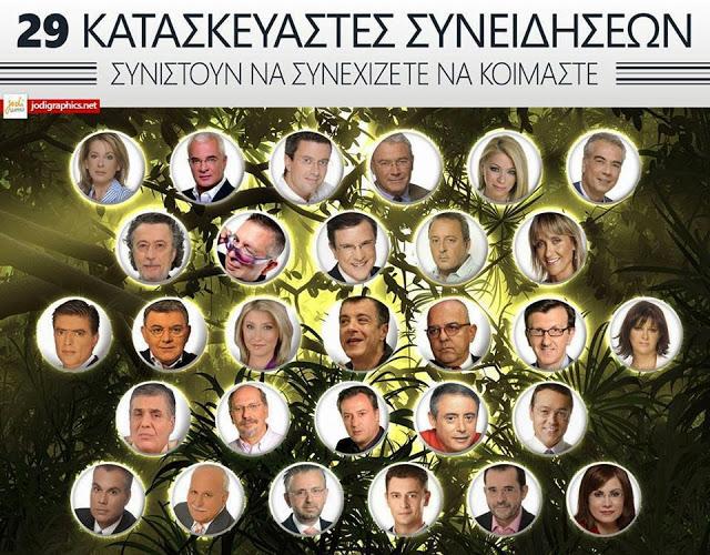 Αποτέλεσμα εικόνας για διαπλεκομενοι δημοσιογραφοι