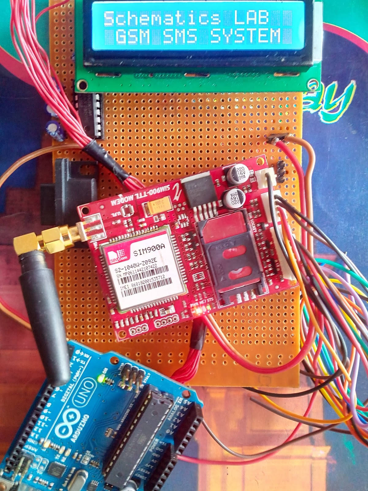 Industrial trainor project consultant on microcontroller