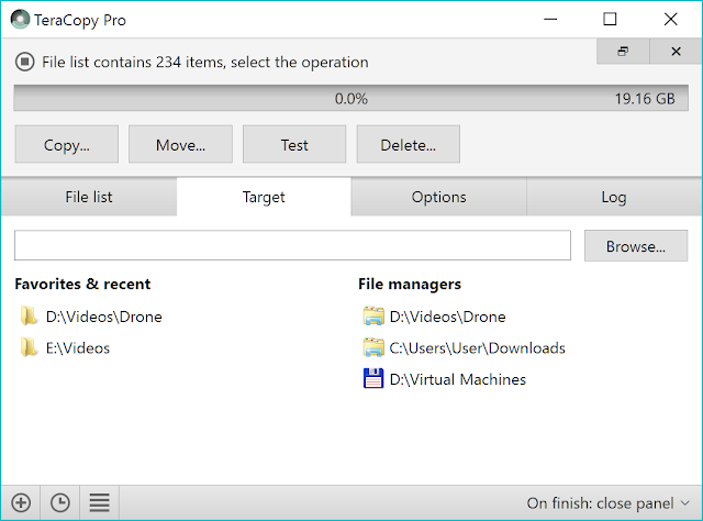 تنزيل برنامج TeraCopy اخر اصدار مجاني لتسريع نسخ ونقل الملفات