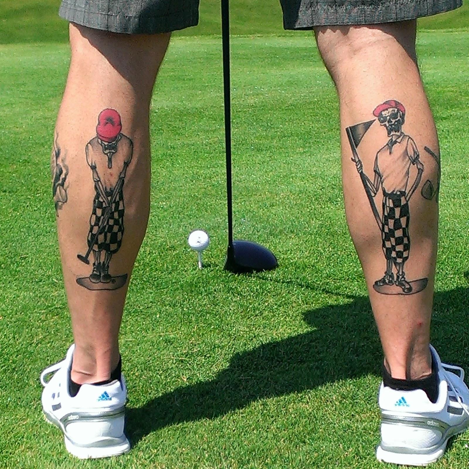 Tattoo Ideas Golf: Send Your Golf Tattoos