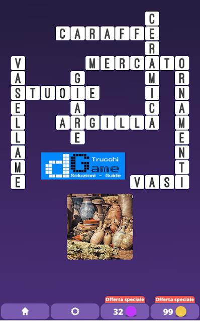 Soluzioni One Clue Crossword livello 19 schemi 12 (Cruciverba illustrato)  | Parole e foto