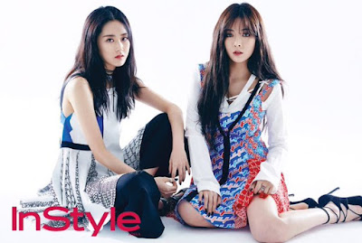 4minute InStyle March 2016