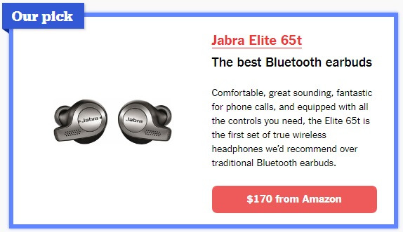 Best Bluetooth wireless earbuds