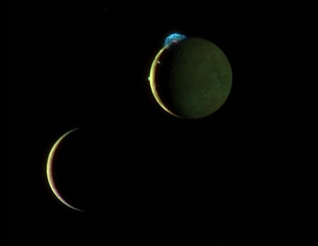 Io e Europa, luas de Júpiter