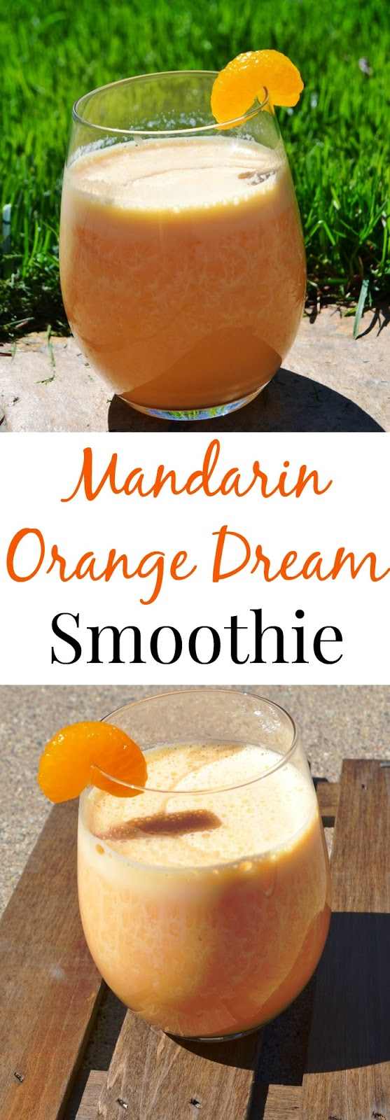 This Mandarin Orange Dream Smoothie takes 2 minutes to make and tastes like dessert but as actually very nutritious! www.nutritionistreviews.com