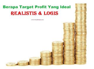 Berapa Target Profit yang Realistis dan Logis bisa di capai di Forex ?