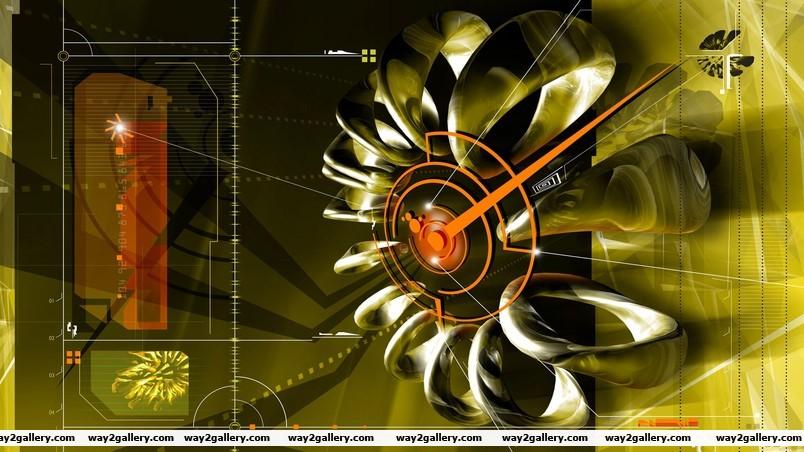 Wing wheel wallpaper