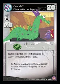 MLP Crackle, Diamond in the Rough Absolute Discord CCG Card