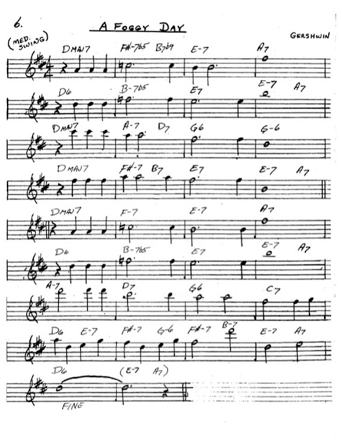 Partitura Saxofón Gershwin