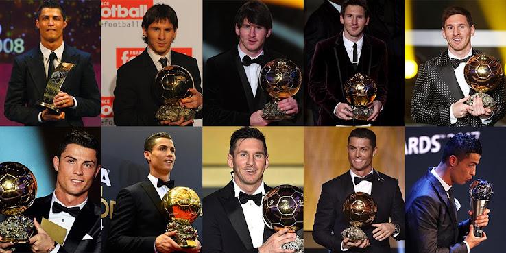 Adidas Messi Nike Ronaldo Ballon Dor Boots History