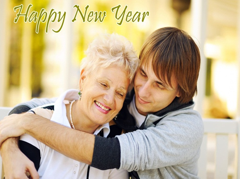 New Year Family Image