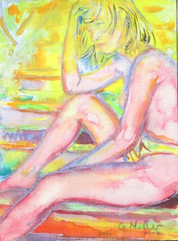 Немецкий художник. Gerald Morton Miller