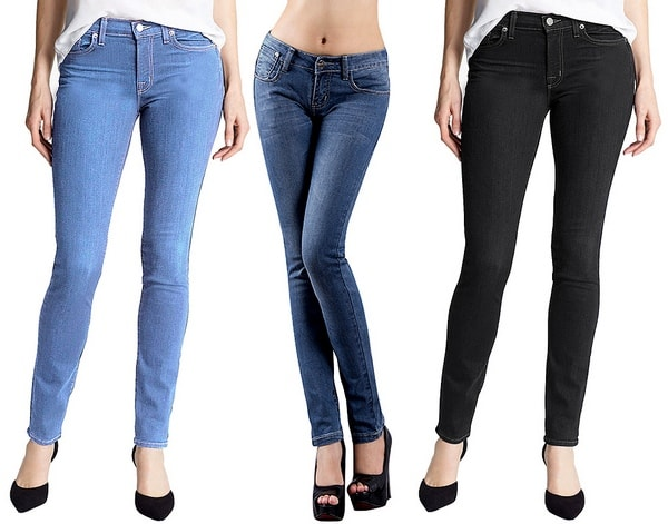 Enzyme washed jeans