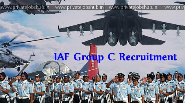 IAF Group C Recruitment