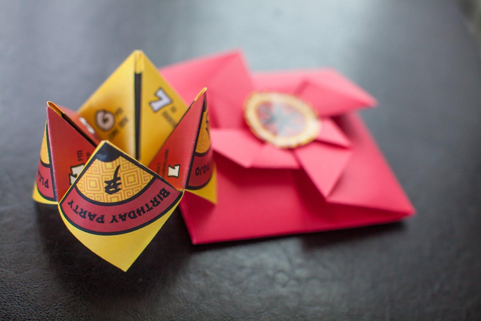 The Party Wall: Origami Dojo--A Japanese Inspired Birthday ... - photo#2