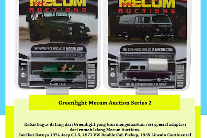 Greenlight Mecum Auction Series 2