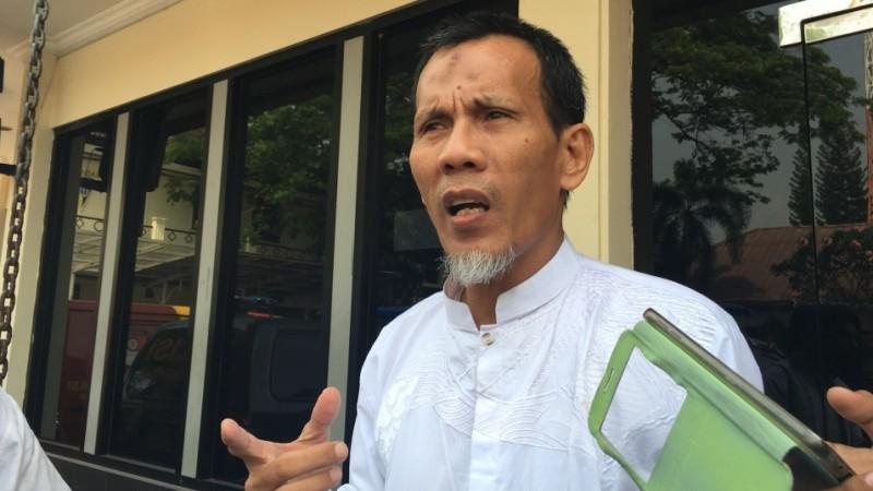 Muhammad Hidayat di Polres Bekasi Kota