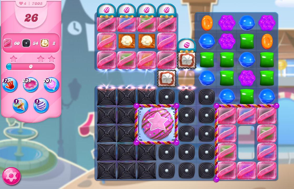 Candy Crush Saga level 7005