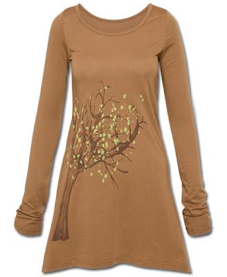 spirit+tree+organic+tunic - Spirit Tree Organic Tunic : Eco Friendly Fashion