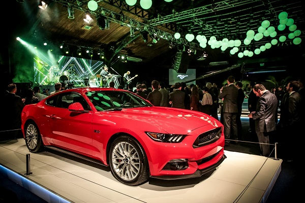 Ford Argentina inauguró el Mustang Hall