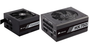 CORSAIR Powers Up CES 2017, with New HX and TX-M Series PSUs