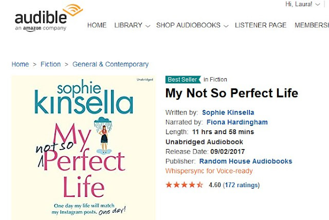 Audible Sophie Kinsella My Not So Perfect Life