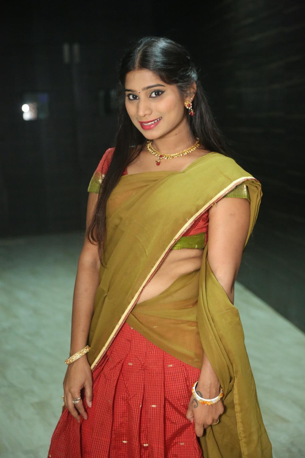 Midhuna Latest Half Saree Photos Gallery - Hd Latest Tamil -5793