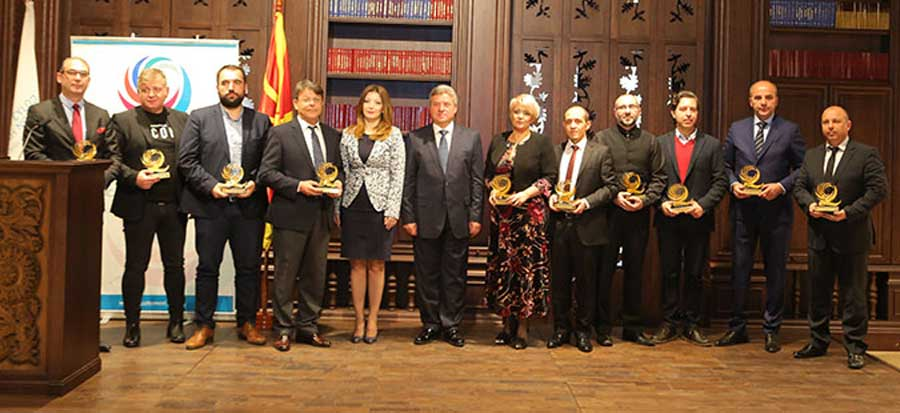 "Presentation of ""Macedonian Quality 2017"" awards"