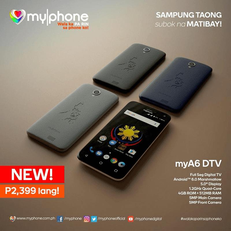 MyPhone MyA6 DTV
