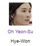 Oh Yeon-Su berperan sebagai Hye-Won