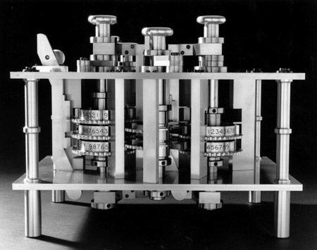 Máquina das diferenças número 2 de Babbae construída pelo Science Museum de Londres de 1989 a 1991