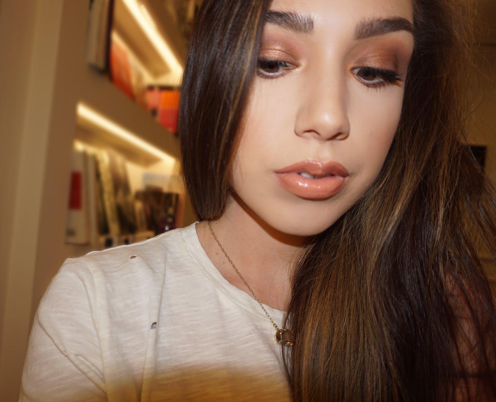 beauty and bananas : melissa alatorre did my makeup!?