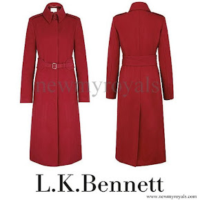 Kate Middleton wore L.K. Bennett Ami coat