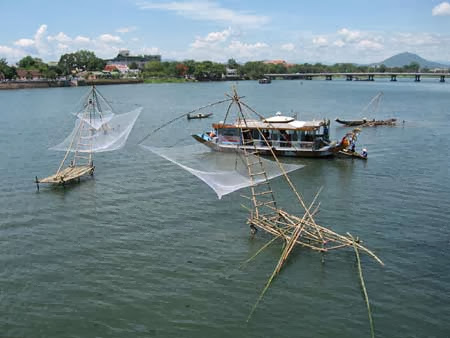 And quiet flows the Huong River 15