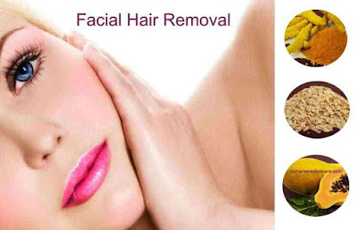 Home remedies for facial hair removal With Papaya