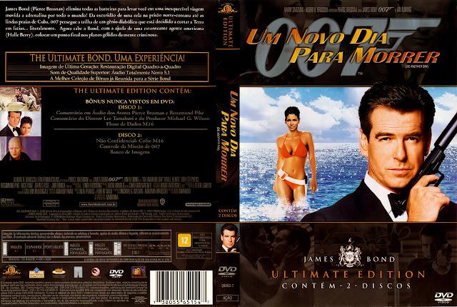Capa DVD Um Novo Dia Para Morrer