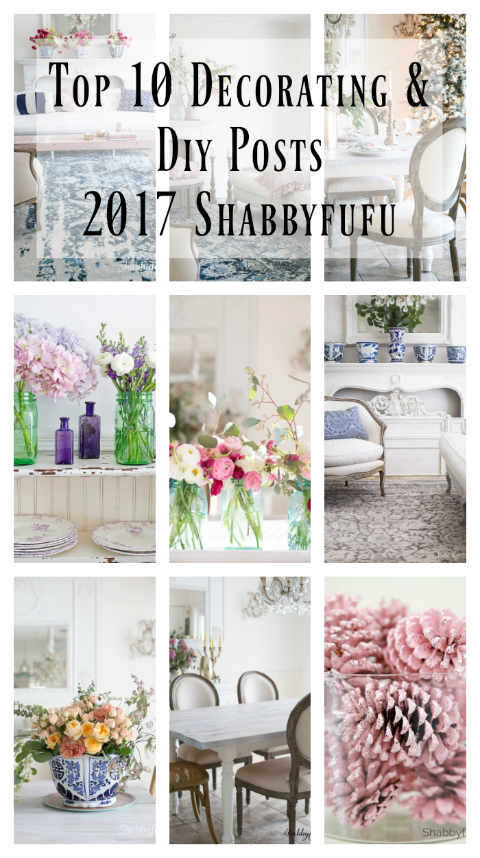 Top Ten Home Decorating and DIY Posts for 2018-shabbyfufu-pinterest