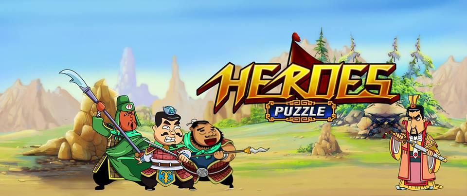 สามก๊กชวนก๊าก Heroes Puzzle