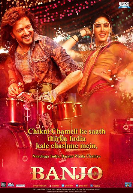 Banjo (2016), Directed by Ravi Jadhav, Riteish Deshmukh, nargis fakhri