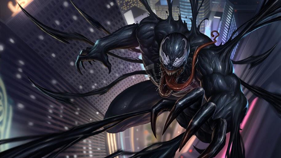 Venom, Marvel, Anti-Hero, 4K, #6.1334