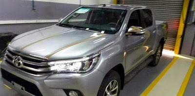 Toyota HiLux 2016 Indonesia