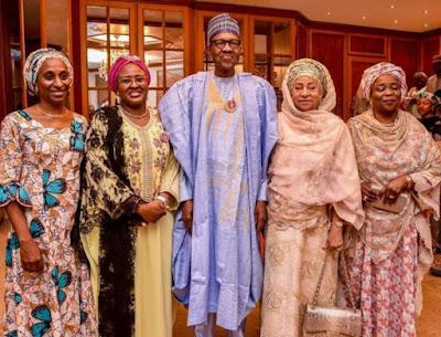 buhari11 - 9JA NEWS: #PMBAt75: Governors, Saraki, Dogara, Tinubu, Well-wishers surprise Buhari on his 75th Birthday