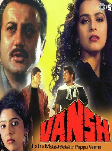Poster of Vansh (1992) Full Movie Hindi 720p HDRip ESubs Download