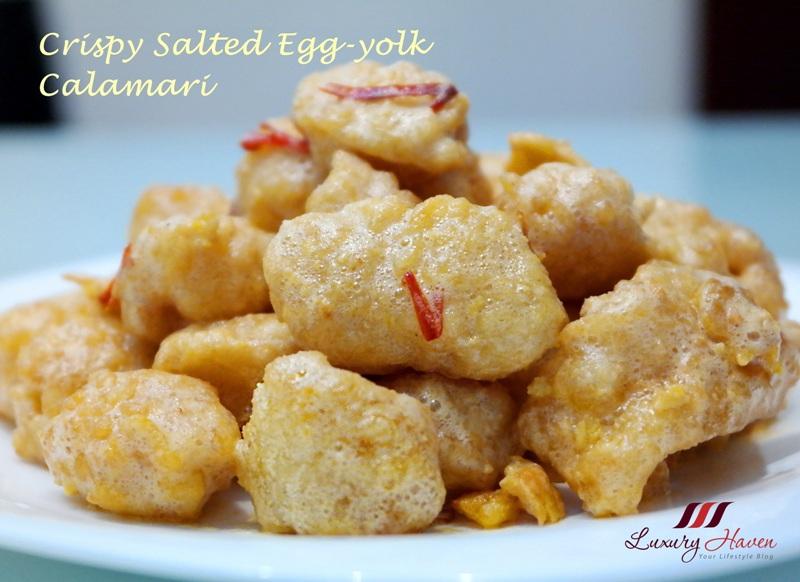 chinese cooking salted egg yolk calamari recipe