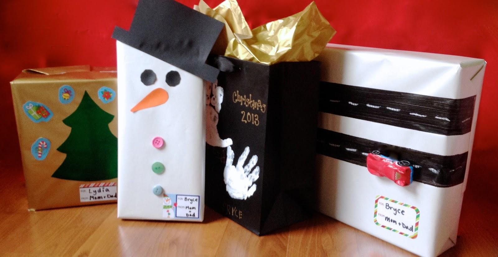 creative gift wrap ideas for kids art craft gift ideas