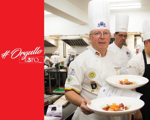 Academia Culinaria de Francia premió trabajo de Chef Homero Miño
