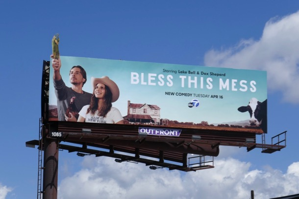 Bless This Mess series premiere billboard