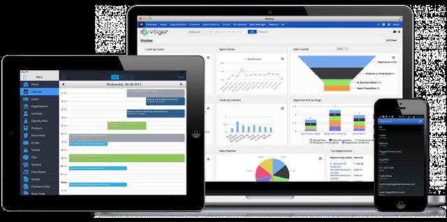 Giải pháp phần mềm quản lý khách hàng Vtiger CRM