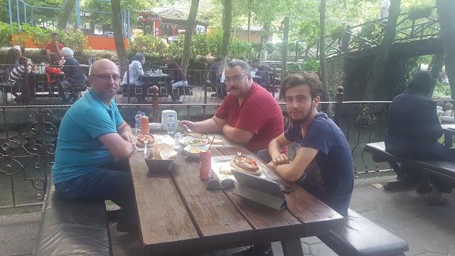 Aydın Çufaoğlu, Ömer Demir SMMM ve Harun İstenci Natürköy'de. Sapanca, Sakarya - Ağustos 2018